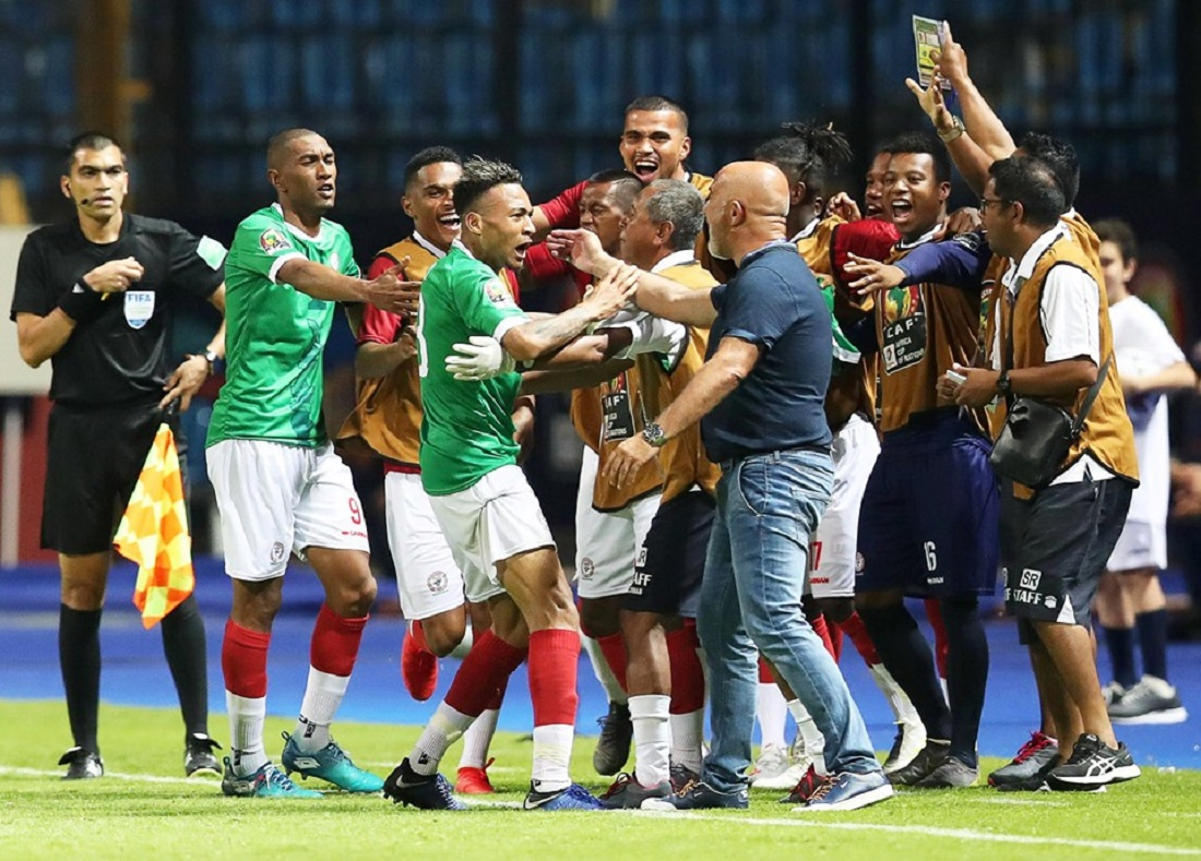 CAN  2019 MADAGASCAR GUINEE BUT D'ABEL ANICET