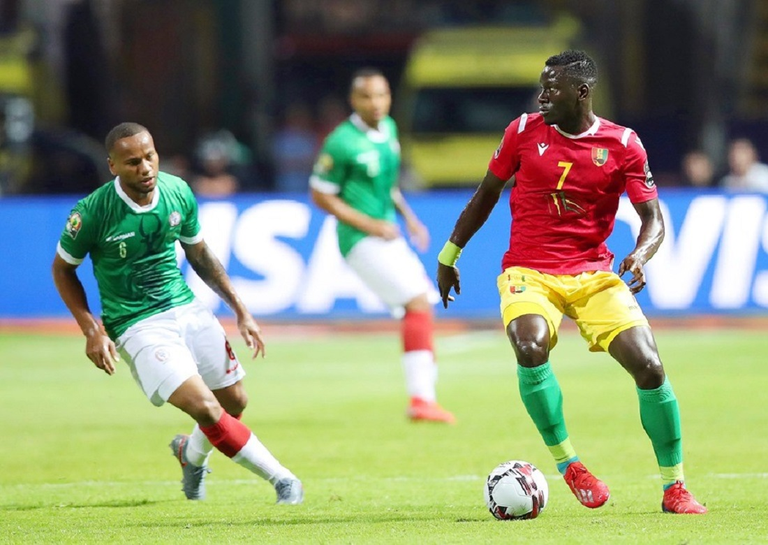 CAN  2019 MADAGASCAR GUINEE MARCO