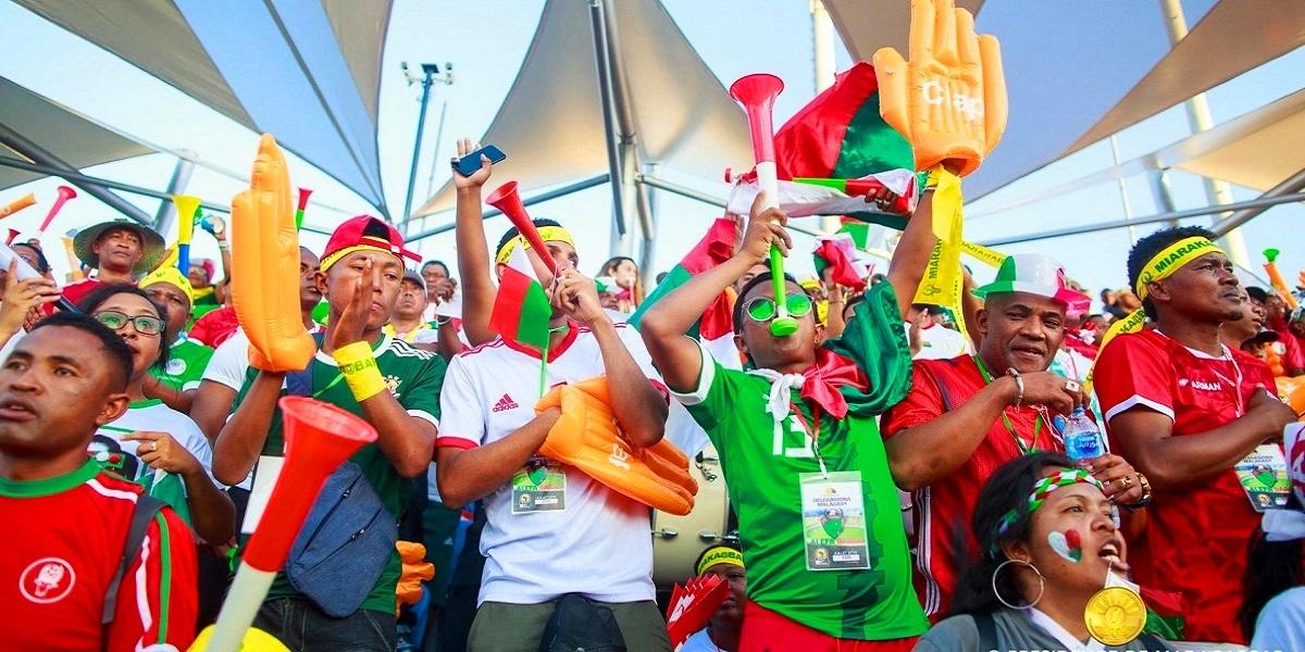Fan zone barea de madagascar can 2022