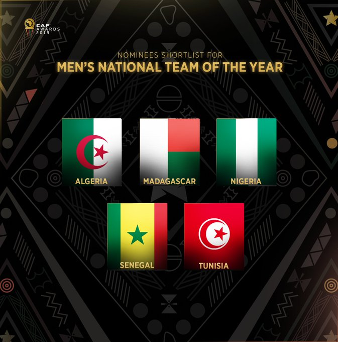 Men s national team of the year